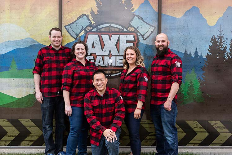 Meet the Axe Games Staff