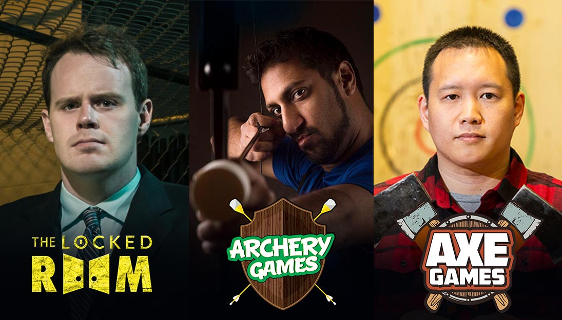 The Locked Room, Archery Games & Axe Games