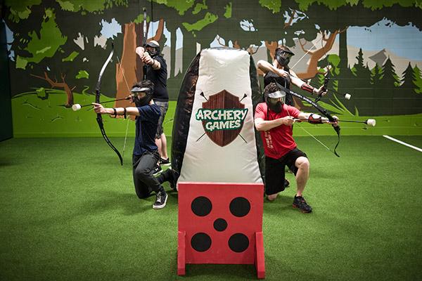 Axe Games Bachelorette Party Calgary - Bachelor Bachelorette Party Group Image